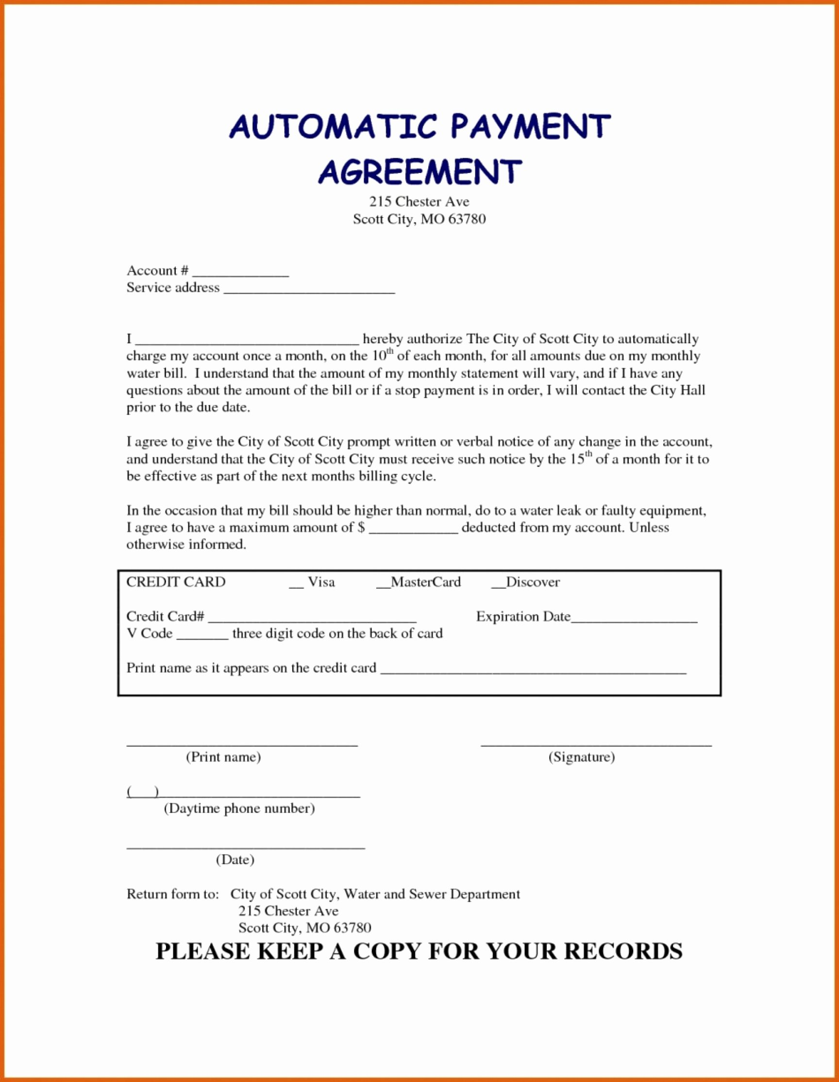 Dental Payment Plan Agreement Template Elegant Dental Monthly Plan Agreement Template