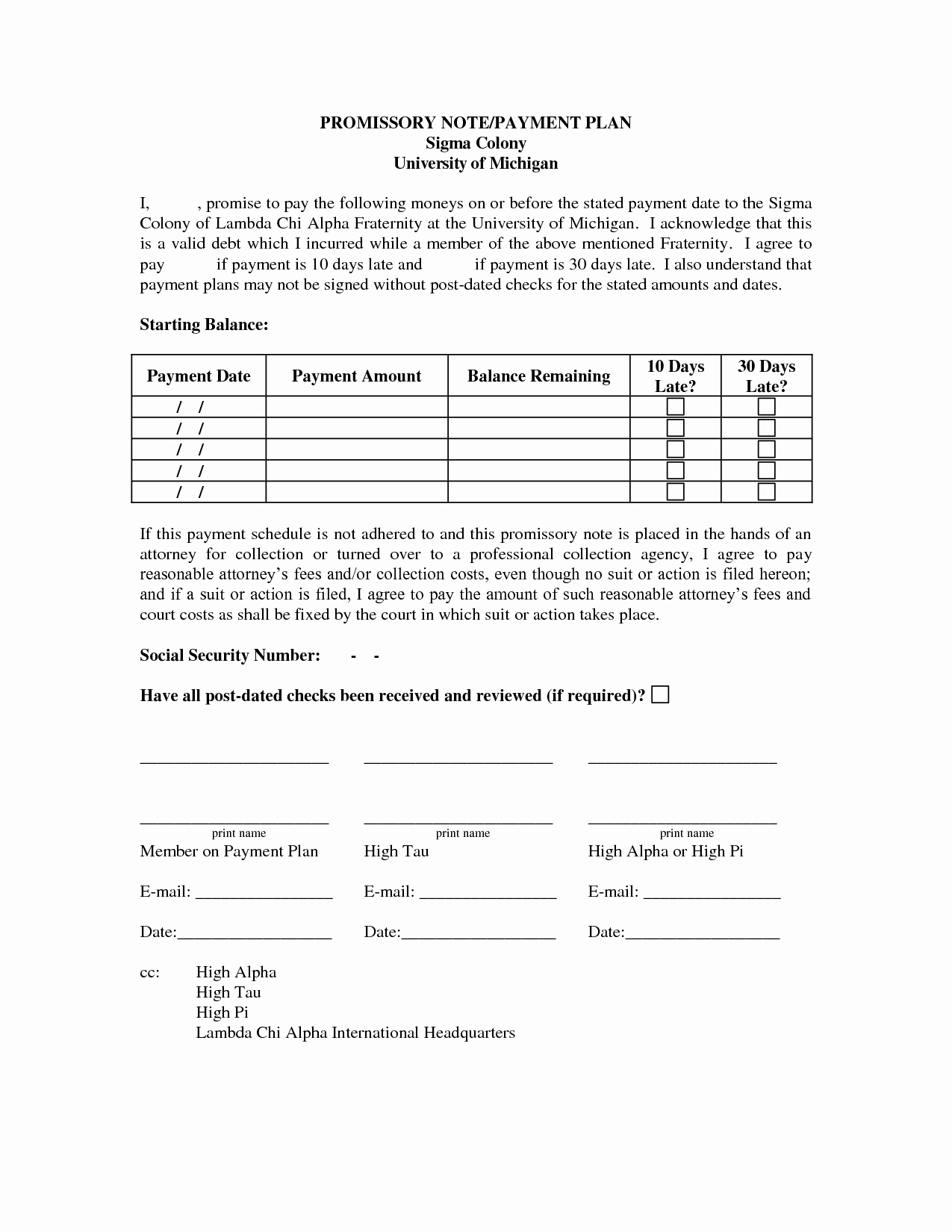 Dental Payment Plan Agreement Template Luxury Payment Plan Template