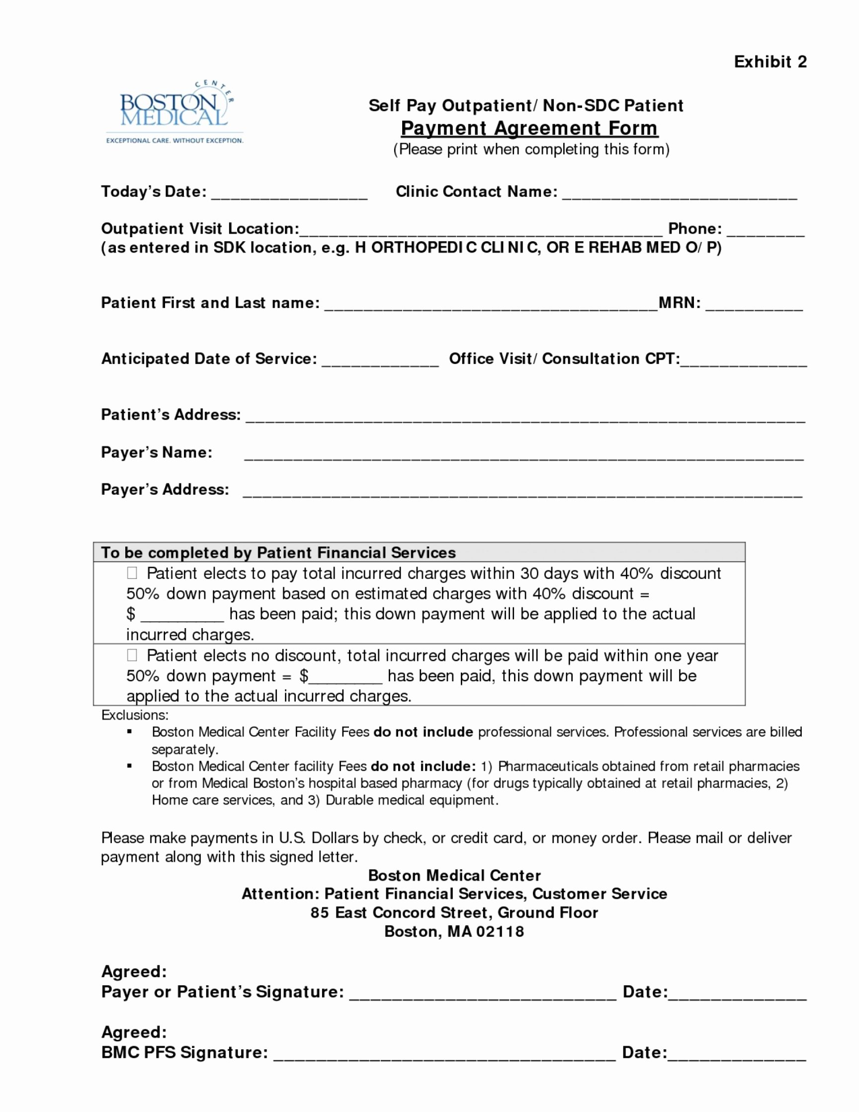 Dental Payment Plan Agreement Template Unique Dental Payment Plan Agreement Template