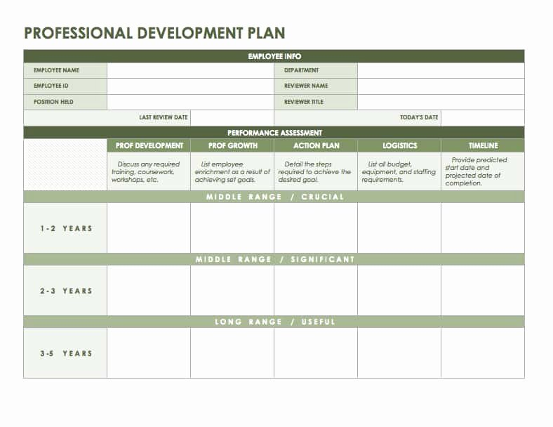 Development Plan Template Word Unique Free Microsoft Fice Templates Smartsheet
