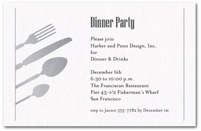 Dinner Invitation Email Template Elegant Birthday Dinner Party Invitation Wording