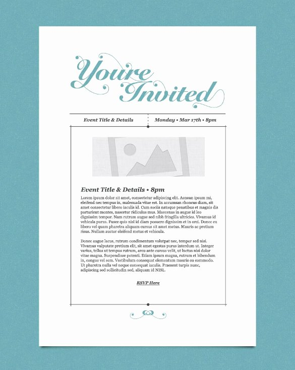Dinner Invitation Email Template Inspirational 11 Exceptional Email Invitation Templates Free Sample