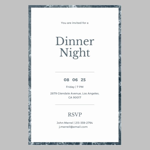 Dinner Invitation Email Template Luxury 8 Annual Dinner Invitations Jpg Psd Vector Eps Ai