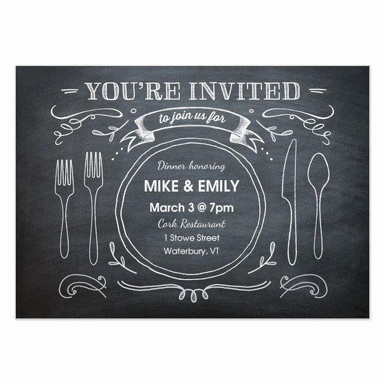Dinner Invitation Template Free Elegant Free Dinner Invitation Template
