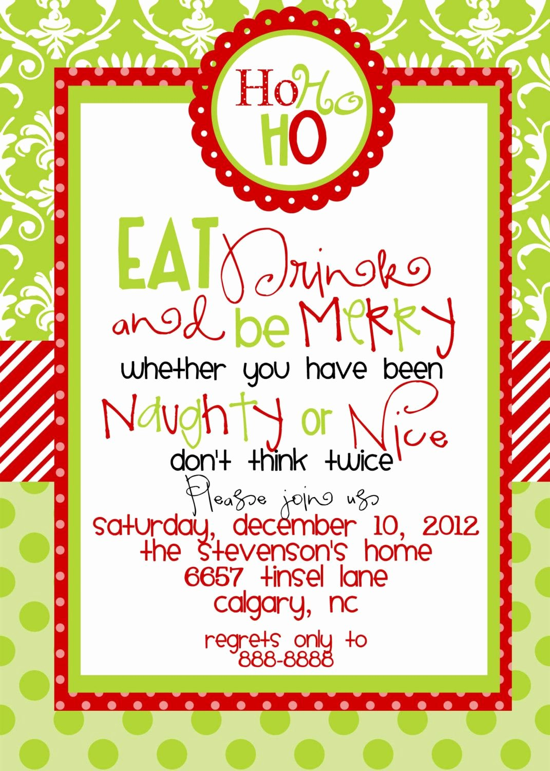 Dinner Invitation Template Free Printable Beautiful Christmas Party Invitations Templates Free Printables