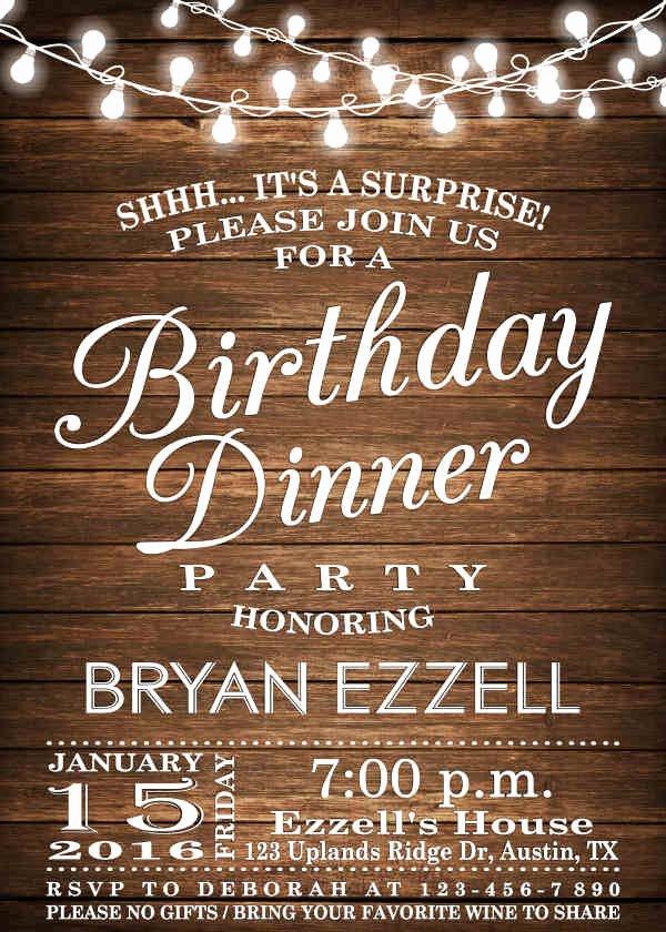 Dinner Invitation Template Free Printable Inspirational 62 Printable Dinner Invitation Templates Psd Ai Word
