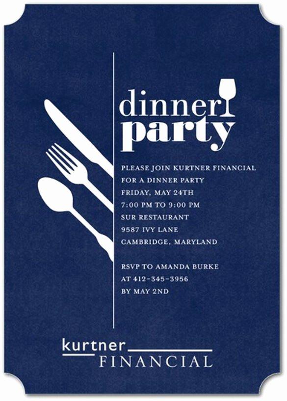 Dinner Invitation Template Free Printable Unique 49 Dinner Invitation Templates Psd Ai Word