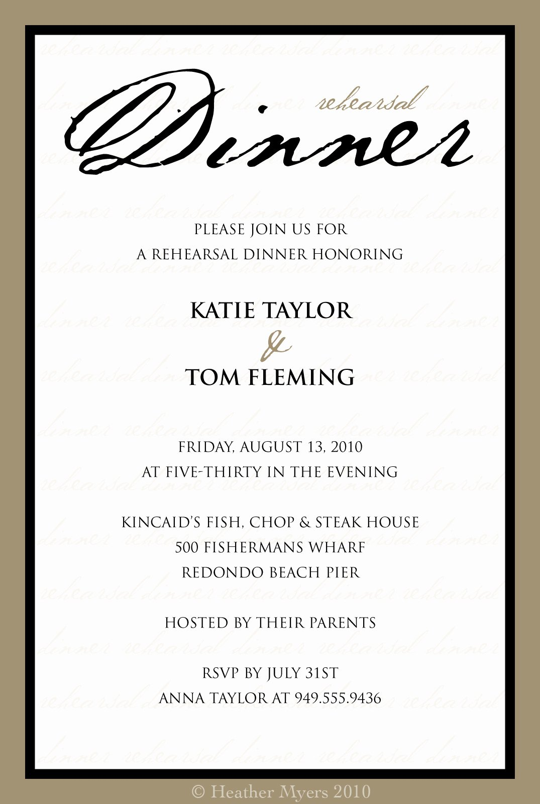Dinner Invitation Template Free Unique Invitation Template Category Page 1 Efoza