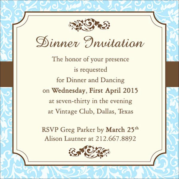 Dinner Invitation Template Word Luxury 13 Work Dinner Invitations Word Psd Publisher