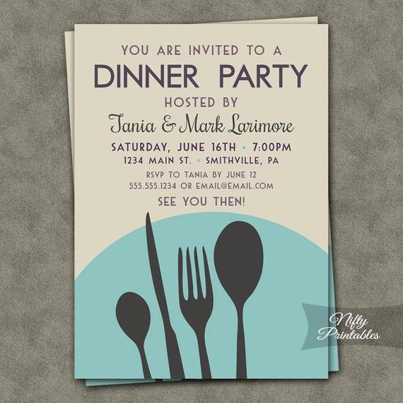 Dinner Invitation Template Word New Dinner Party Invitations Printable Dinner Party Invites