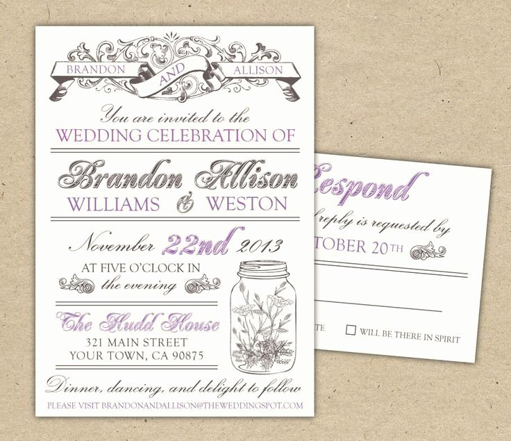Diy Wedding Invitation Template Free Beautiful Free Diy Wedding Invites Templates Diy Printable Wedding