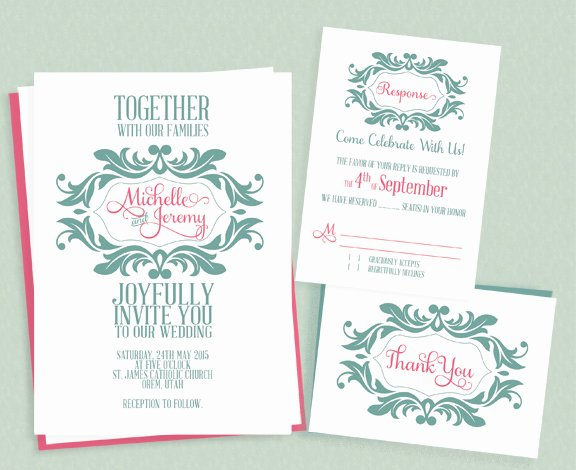 Diy Wedding Invitation Template Free Best Of Diy Wedding Invitations Our Favorite Free Templates