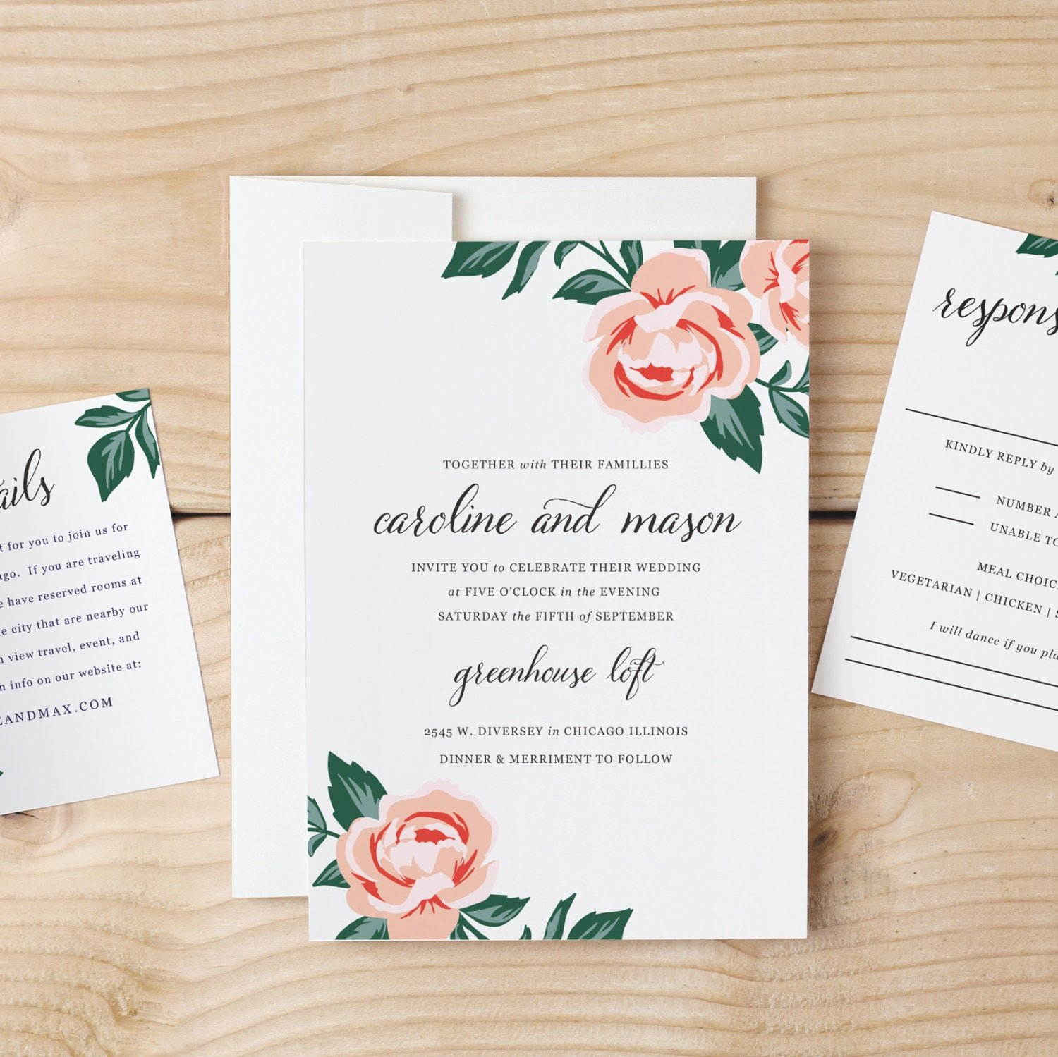 Diy Wedding Invitation Template Free Elegant Diy Wedding Invitation Template Colorful Floral Word or
