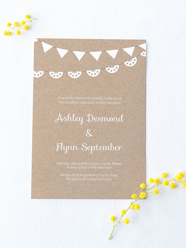 Diy Wedding Invitation Template Free New 16 Printable Wedding Invitation Templates You Can Diy