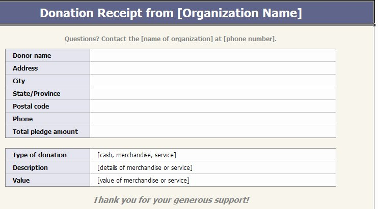 Donation form Template Free Beautiful Ultimate Guide to the Donation Receipt 7 Must Haves & 6