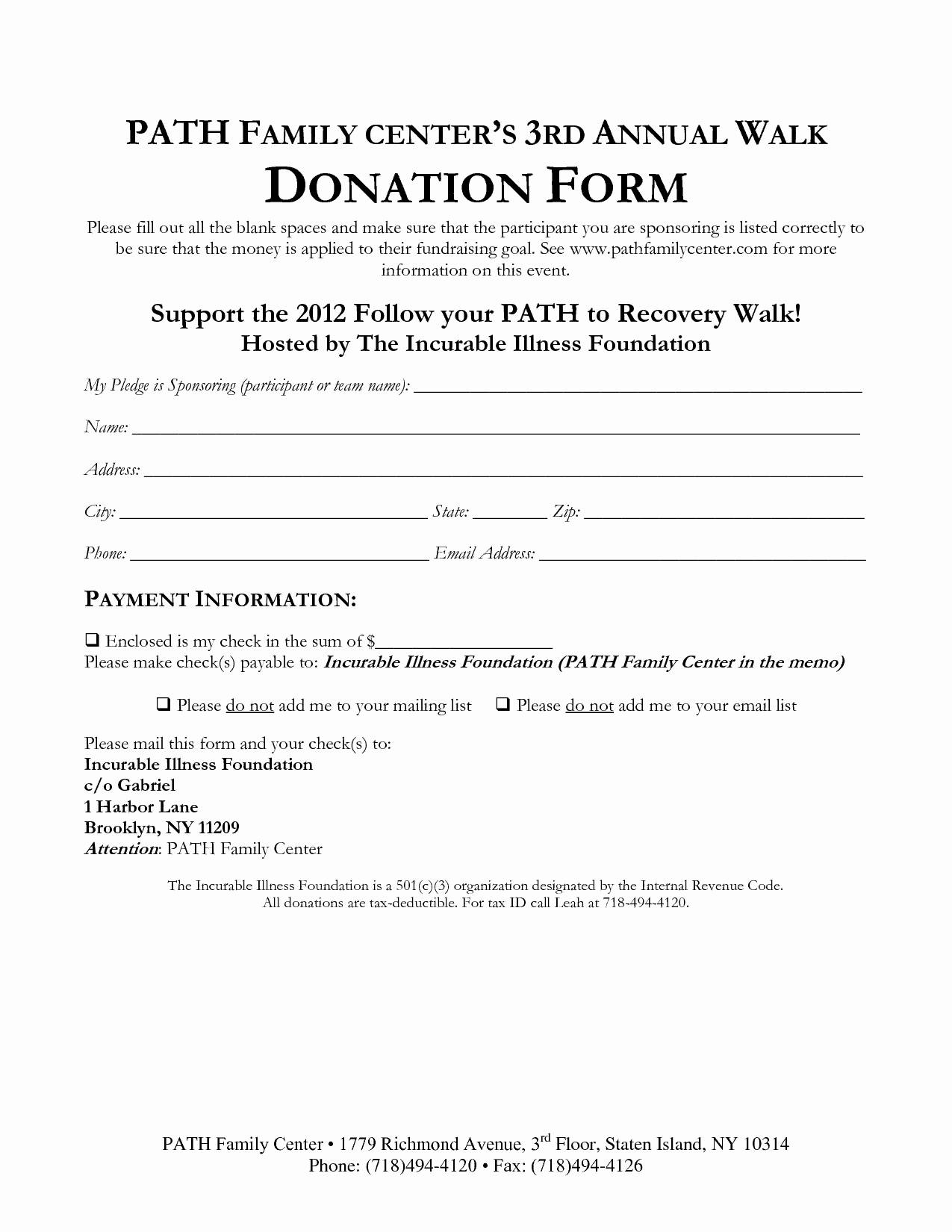 Donation form Template Free Elegant 36 Free Donation form Templates In Word Excel Pdf