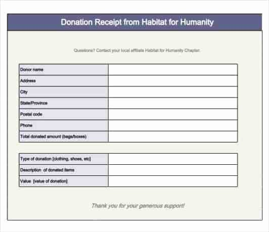 Donation form Template Free Unique 36 Free Donation form Templates In Word Excel Pdf