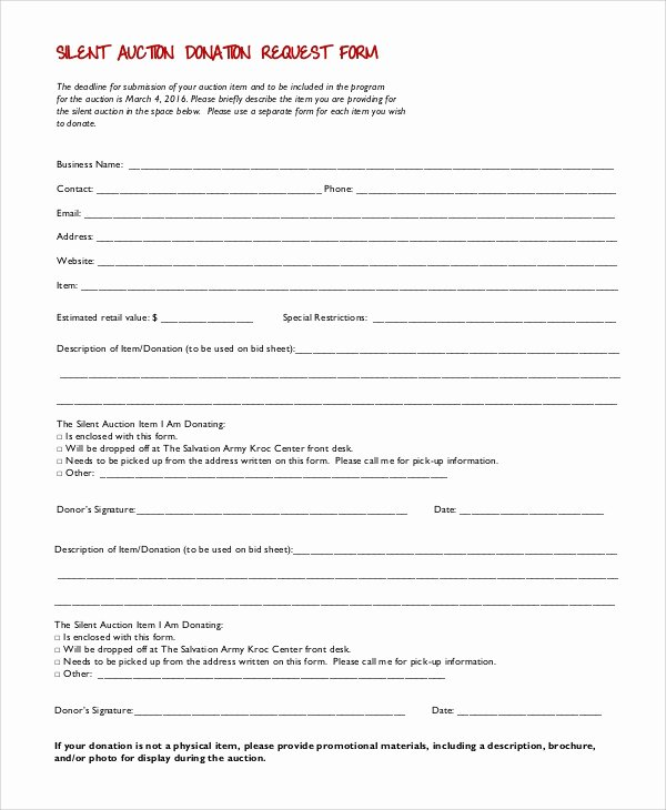 Donation form Template Pdf Beautiful 10 Sample Donation Request forms Pdf Word