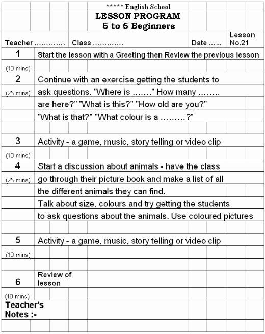 Eld Lesson Plan Template Luxury Lesson Plan format English Language Flowersheet