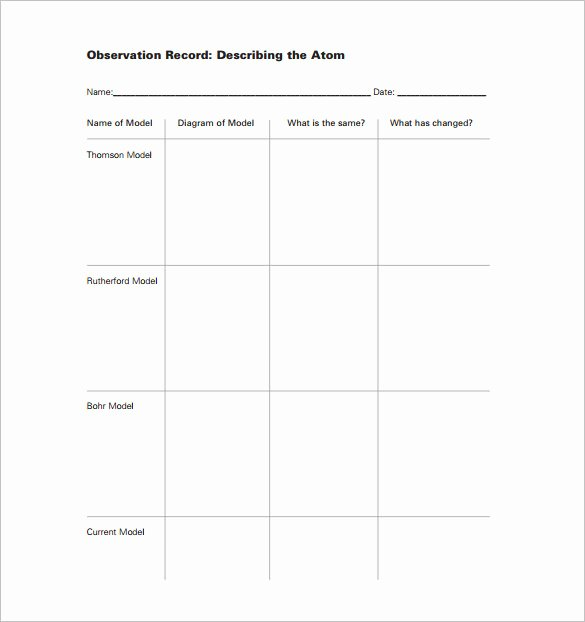 Elementary Lesson Plan Template Word Fresh Elementary Lesson Plan Template 11 Free Word Excel