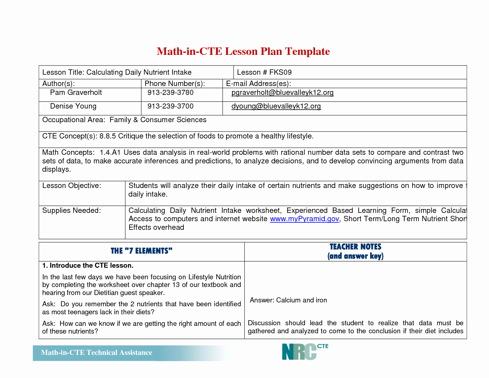 Elementary Math Lesson Plan Template Lovely Best S Of Math Lesson Plan Template Math Lesson