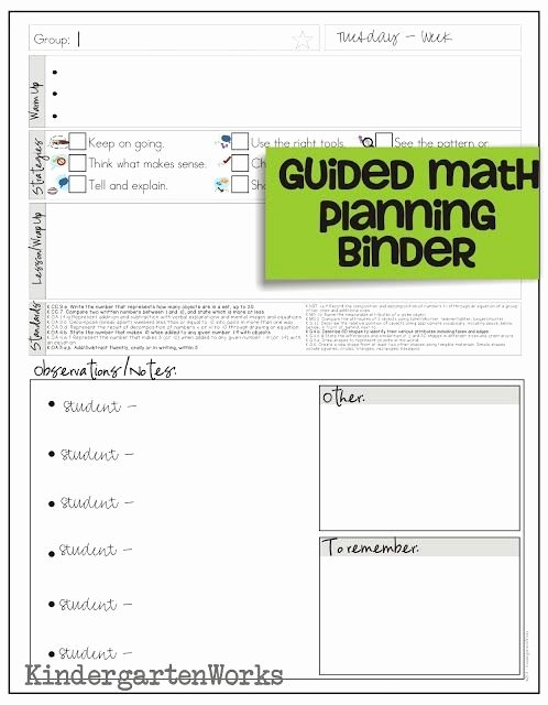 Elementary Math Lesson Plan Template Unique How to Make Teacher Planning Work for You