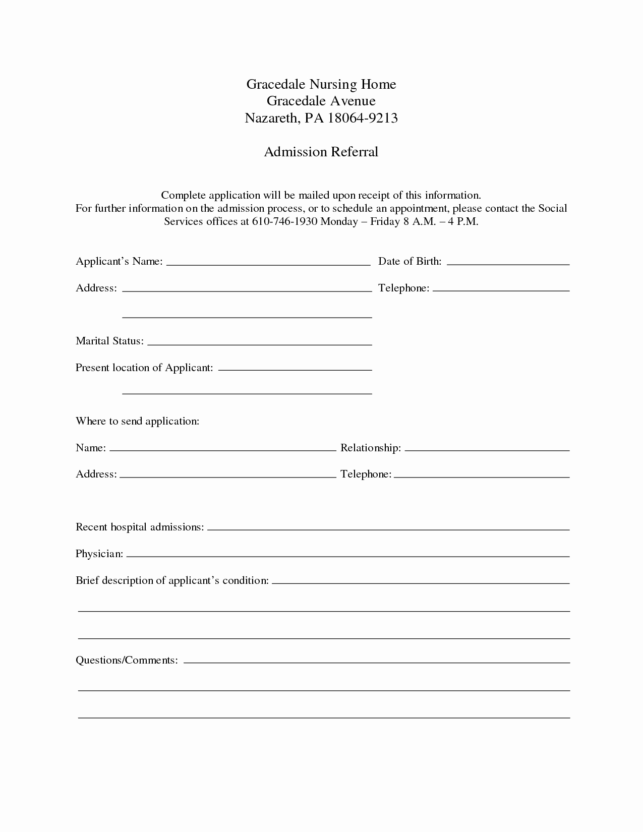 Emergency Room form Template Awesome 9 Best Of Free Printable Hospital Discharge forms