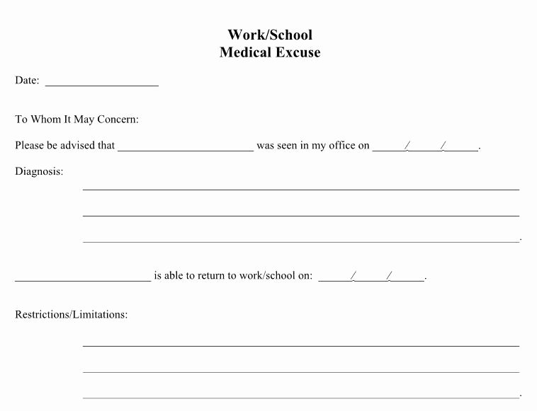Emergency Room form Template Awesome Doctors Notes 16 In 2019