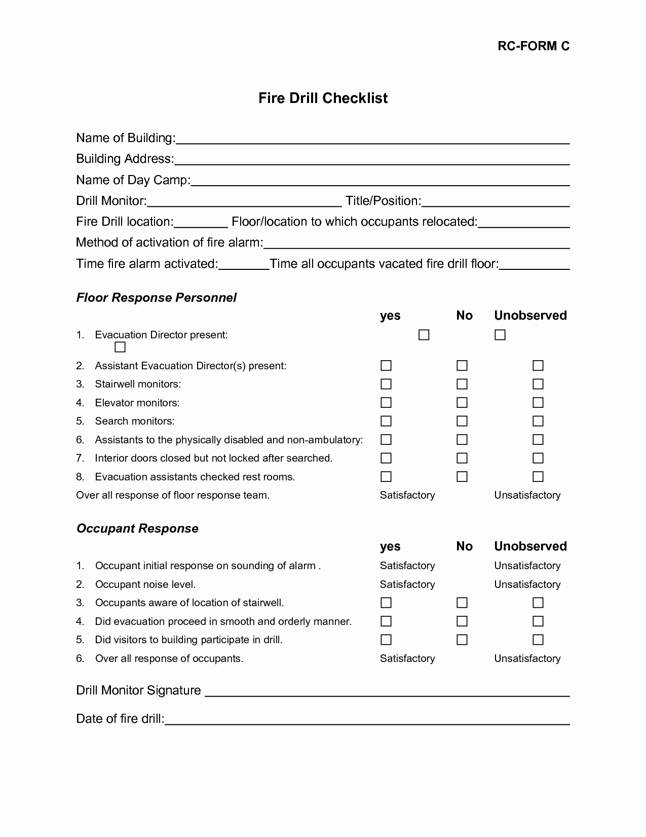 Emergency Room form Template Fresh Best S Of Operating Room Fire Drill Scenarios Fire