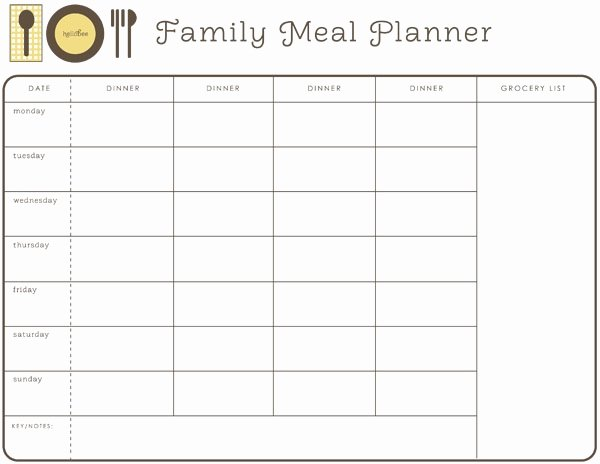 Employee Lunch Schedule Template Awesome Monthly Meal Planner Free Printable Meal Planning