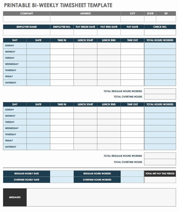 Employee Lunch Schedule Template Luxury 17 Free Timesheet and Time Card Templates