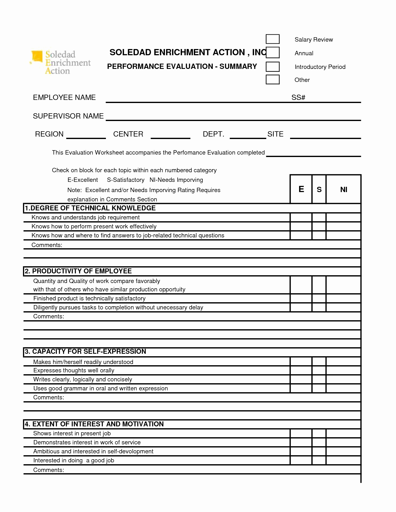 Employee Performance Appraisal form Template Fresh Free 360 Performance Appraisal form Google Search