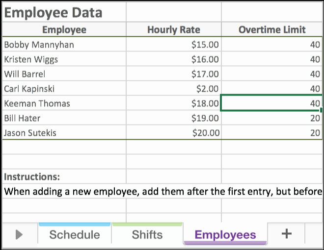 Employee Schedule Template Excel Beautiful Free Excel Employee Scheduling Template