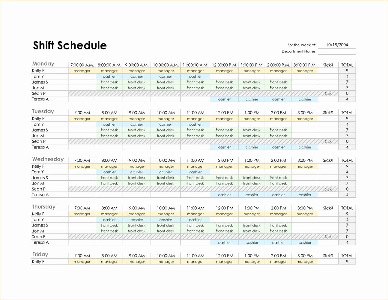 Employee Schedule Template Excel Beautiful Work Back Schedule Template Excel