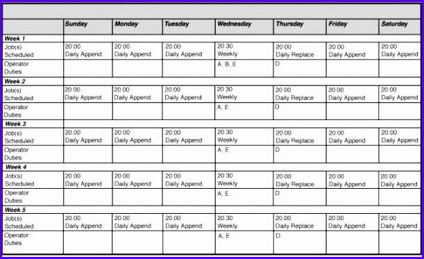 Employee Schedule Template Excel Inspirational 14 Free Excel Employee Schedule Template Exceltemplates