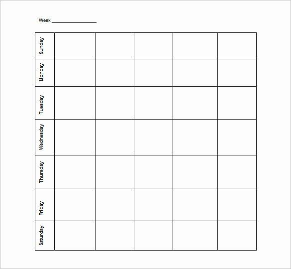 Employee Schedule Template Free Download Best Of Blank Schedule Template 23 Free Word Excel Pdf format