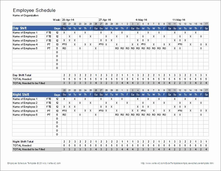 Employee Schedule Template Free Download Inspirational Fresh 48 Sample Lsat Schedule 2019 Template