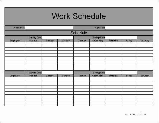 Employee Schedule Template Free Download Luxury Download Basic Employee Schedule Template Free
