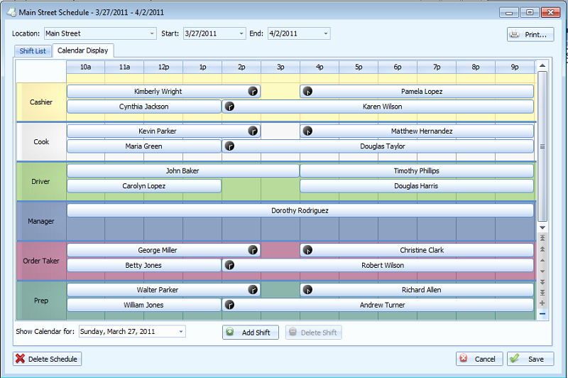 Employee Schedule Template Free Download Luxury Free Download Employee Scheduling Template