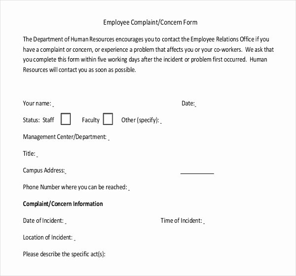 Employee Write Up forms Template Fresh 13 Employees Write Up Templates – Free Sample Example