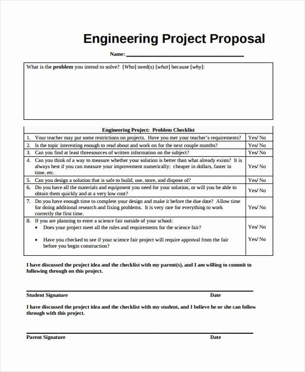 sample project proposal forms