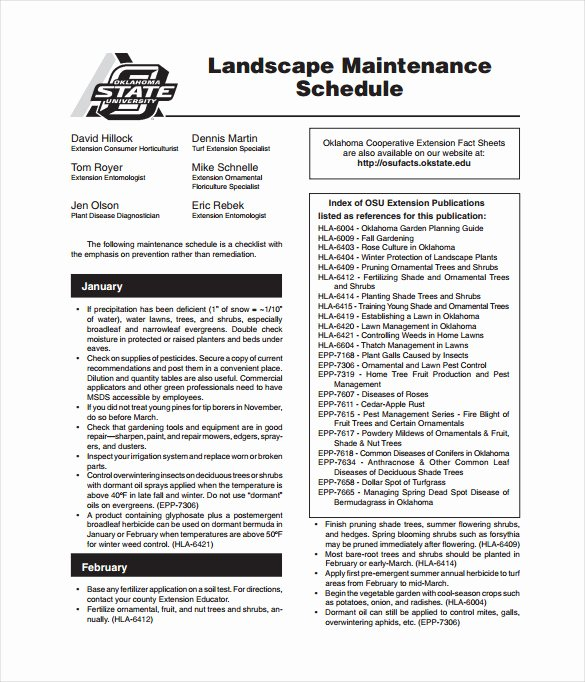 Equipment Maintenance Schedule Template Excel Inspirational Maintenance Schedule Template 37 Free Word Excel Pdf