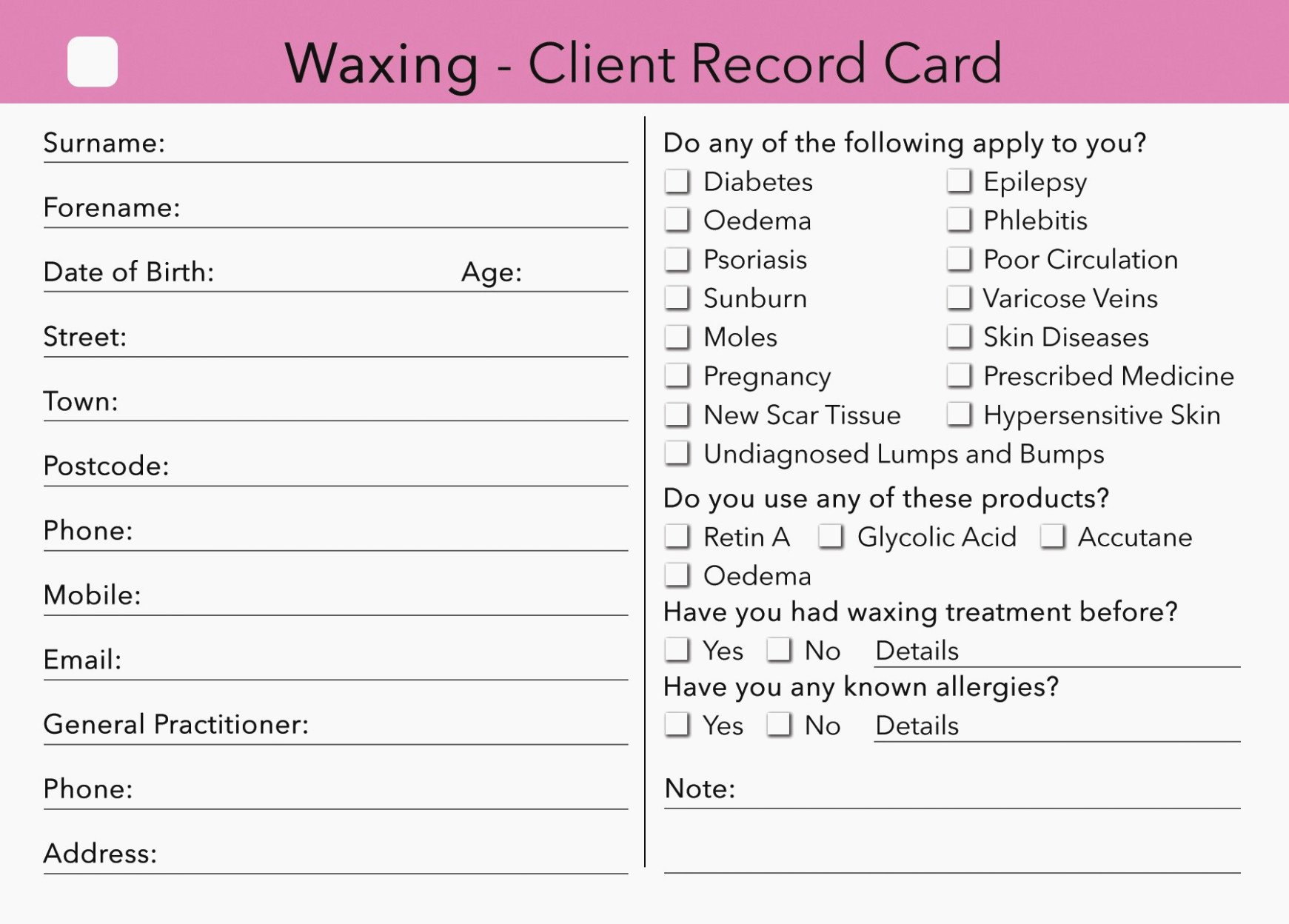 Esthetician Client Consultation form Template Unique the Real Reason Behind