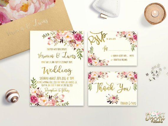 Etsy Wedding Invitation Template Inspirational 13 Etsy Wedding Invite Templates