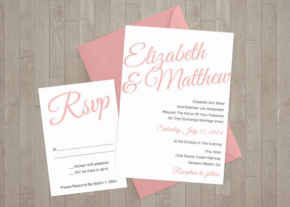Etsy Wedding Invitation Template Lovely 13 Etsy Wedding Invite Templates