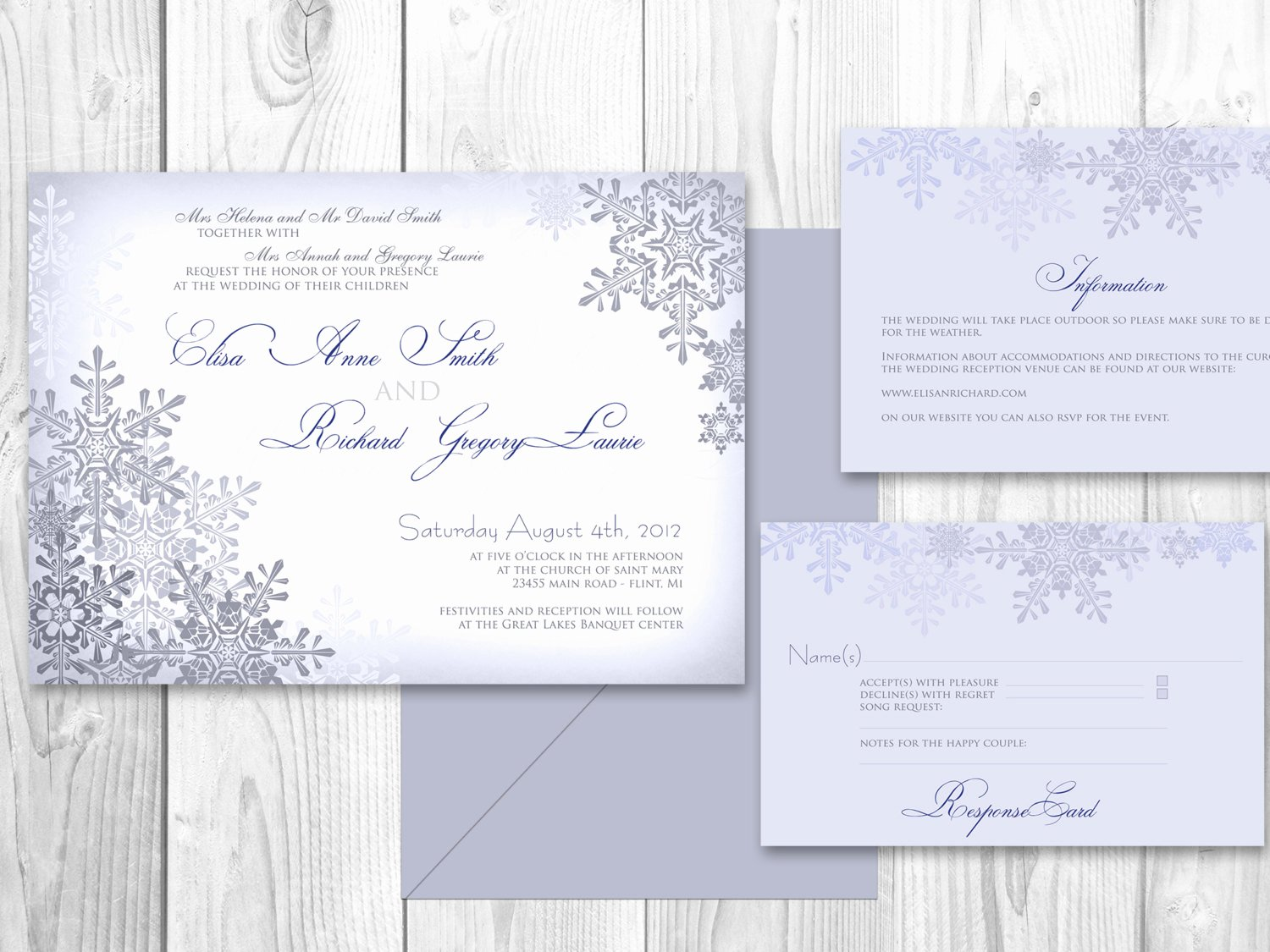 Etsy Wedding Invitation Template Unique Wedding Invitations Winter Printable Winter by