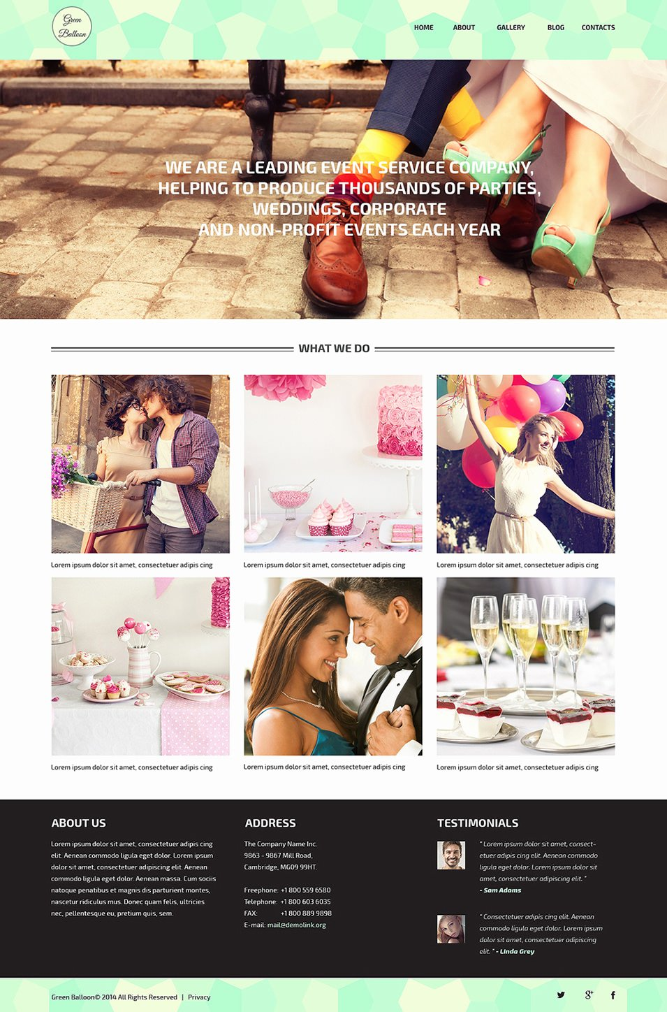 Event Planner Website Template Best Of 33 event Planning Website themes & Templates