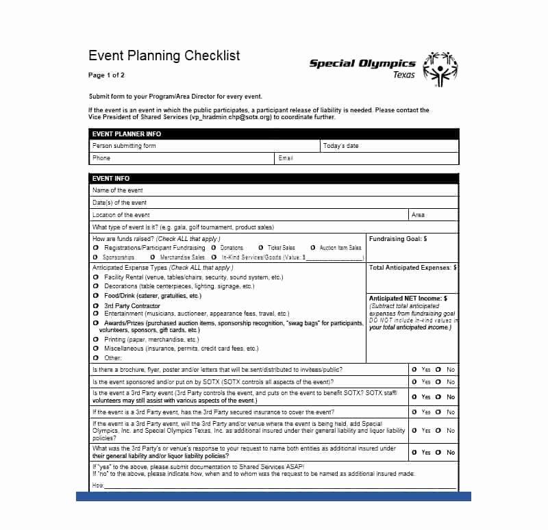 Event Planner Website Template Elegant 50 Professional event Planning Checklist Templates