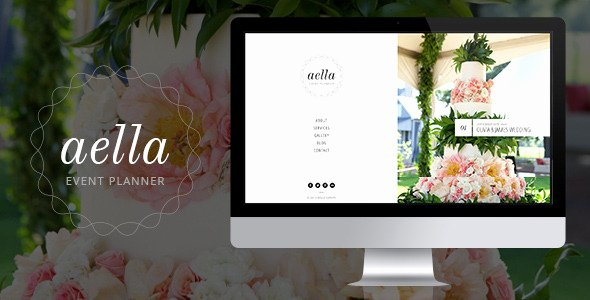 Event Planner Website Template Fresh Aella Psd Template for event Planners by Munfactory
