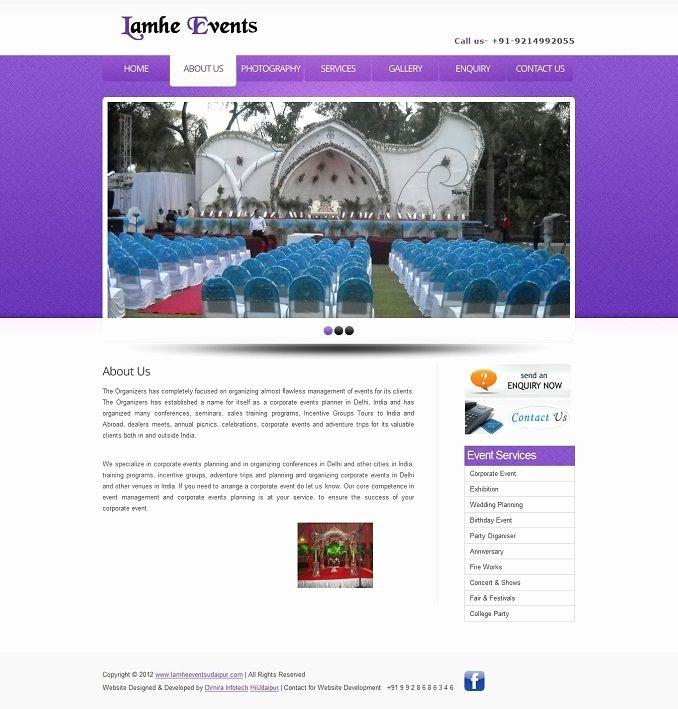 Event Planner Website Template Lovely 2 Free event Management Website Templates